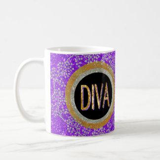 Diva Sparkle Coffee Mug