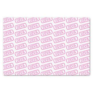 """DIVA Stamped Tissue 10"""" X 15"""" Tissue Paper"""