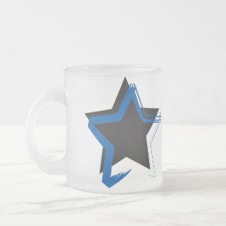 Diva Star Frosted Mug