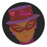 """Diva"" Sticker"