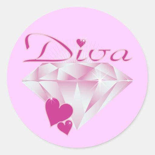 Diva Stickers