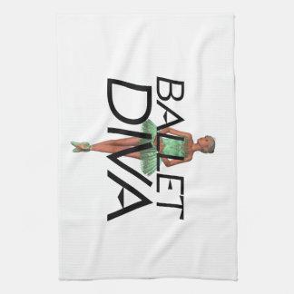 Diva SUPERIOR del ballet Toallas De Mano