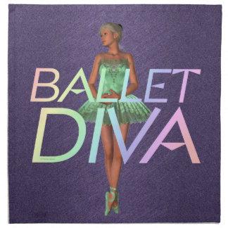 Diva SUPERIOR del ballet Servilleta De Papel