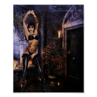 Diva tatuada posters
