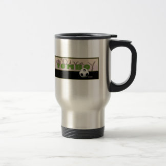 Diva Tomboy's official web logo 15 Oz Stainless Steel Travel Mug