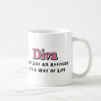 Diva Way of Life Coffee Mug