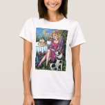 Diva with Mussolini T-Shirt