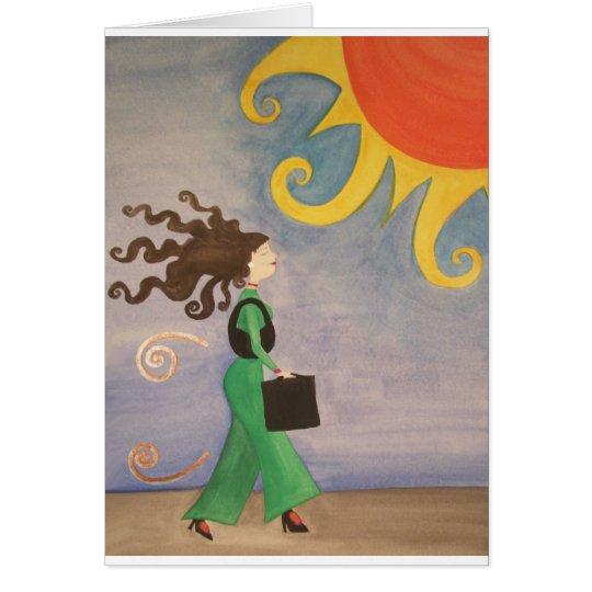 Diva Working Woman Card