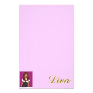 Diva Writings Stationery