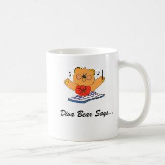 DivaBear Conducting Coffee Mug