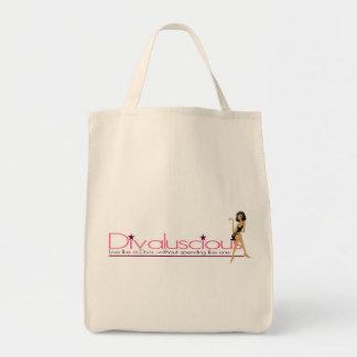 Divaluscious Tote Bags