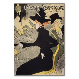 Divan Japonais by Henri de Toulouse-Lautrec Card