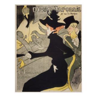 Divan Japonais by Henri de Toulouse-Lautrec Postcard