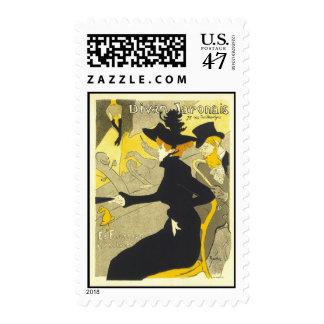 Divan Japonais, Henri Toulouse Lautrec Postage Stamp