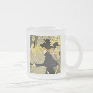 Divan Japonais 10 Oz Frosted Glass Coffee Mug
