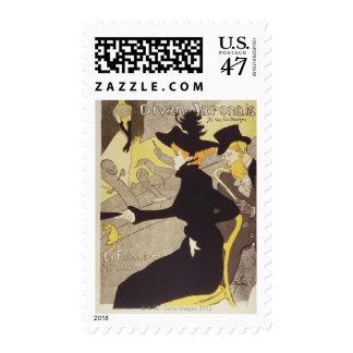 Divan Japonais Postage Stamp