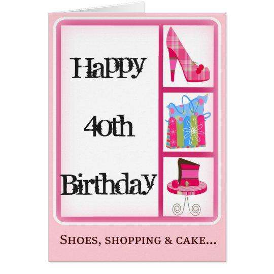 Divas 40th birthday card for women zazzle divas 40th birthday card for women bookmarktalkfo Images