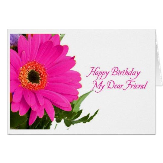 Diva's Daisy Birthday Card