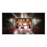 ¡Divas de la estrella! Tarjetas de la foto Tarjetas Fotográficas Personalizadas