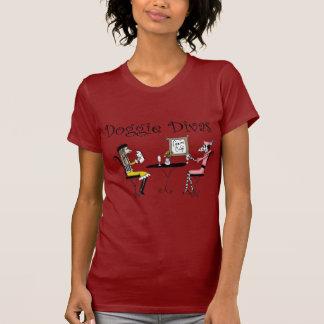 Divas del perrito camiseta