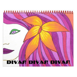 Divas! Divas! Divas! Calaendar Calendars