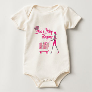 Diva's Does Coupons Baby Bodysuit