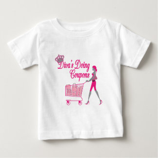 Diva's Does Coupons Baby T-Shirt