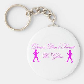 Diva's Don't Sweat Keychain