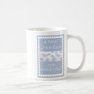 Diva's Gift for New Grandparents-A New Grandson! Coffee Mug