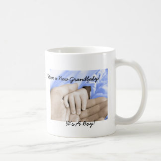 Diva's Gift for New Grandparents-It's a Boy! Coffee Mug
