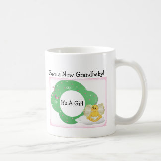 Diva's Gift for New Grandparents-It's a Girl! Classic White Coffee Mug