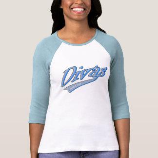 Divas Girl Softball Team Tee Shirts
