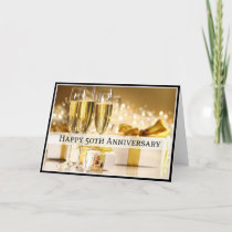 Diva's Happy 50th Anniversary Card