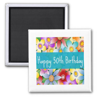 Diva's Happy 50th Birthday Magnet