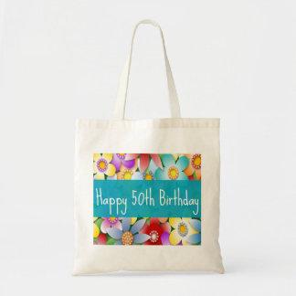Diva's Happy 50th Birthday Tote