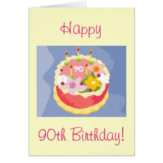 Diva's Happy 90th Birthday Card
