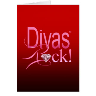 Divas Rock! Card