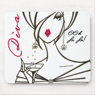 Divas Rule! mousepad - Customized - Customized