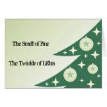 Diva's Twinkling Christmas Greeting Card