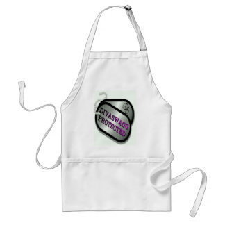 DIVASWAGG PROTECTED DOG TAGS ADULT APRON