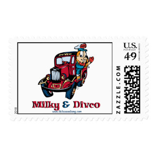 Divco and Milky Postage