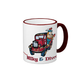 Divco and Milky Ringer Coffee Mug
