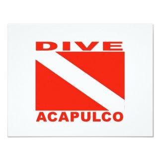 Dive Acapulco, Mexico Card