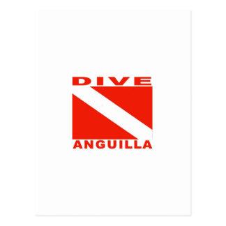 Dive Anguilla Postcard