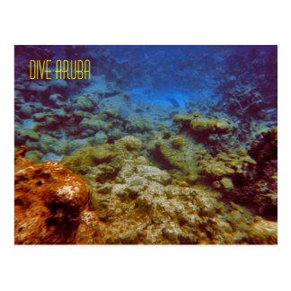 Dive Aruba Postcards