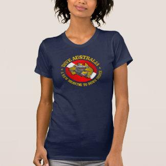 Dive Australia (rd) Hammerhead Apparel Tee Shirt