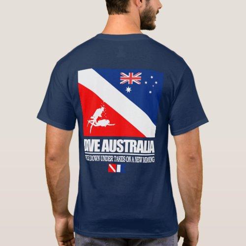 Dive Australia sq T_Shirt