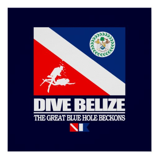 Dive Belize Print