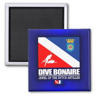 Dive Bonaire 2 Inch Square Magnet