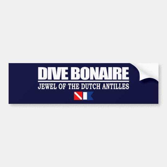 Dive Bonaire Bumpersticker Bumper Sticker